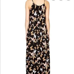 Rare Traffic People Boho butterfly maxi dress.